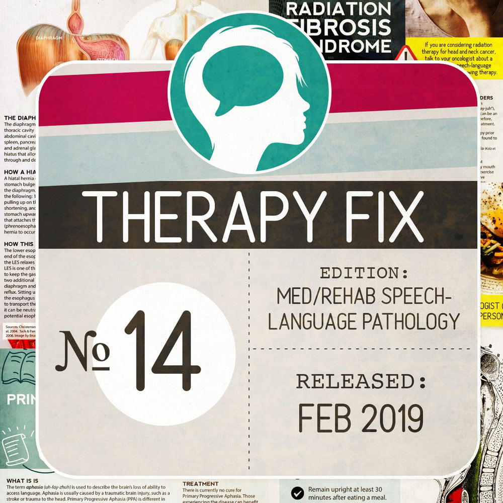 Med/Rehab Speech-Language Pathology Therapy Fix No. 14 (Released Feb 2019)