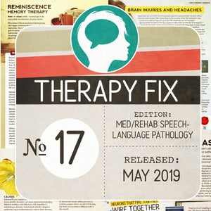 Load image into Gallery viewer, Med/Rehab Speech-Language Pathology Therapy Fix No. 17 (Released May 2019)