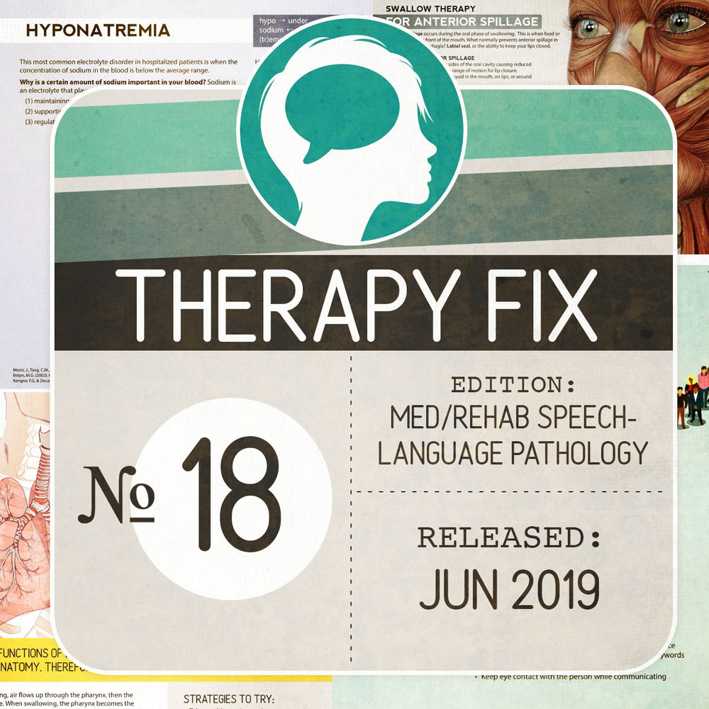 Med/Rehab Speech-Language Pathology Therapy Fix No. 19 (Released Jun 2019)