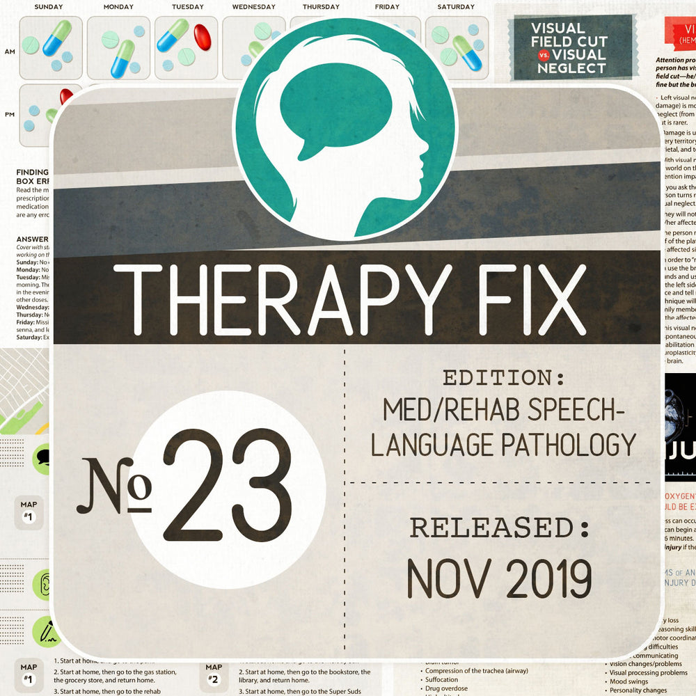 Med/Rehab Speech-Language Pathology Therapy Fix No. 23 (Released Nov 2019)