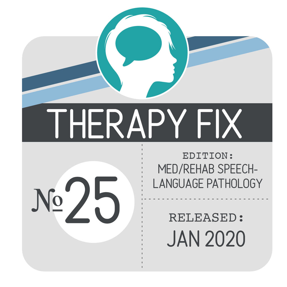 Med/Rehab Speech-Language Pathology Therapy Fix No. 25 (Released Jan 2020)