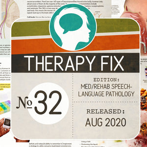 Med/Rehab Speech-Language Pathology Therapy Fix No. 32 (Released August 2020)