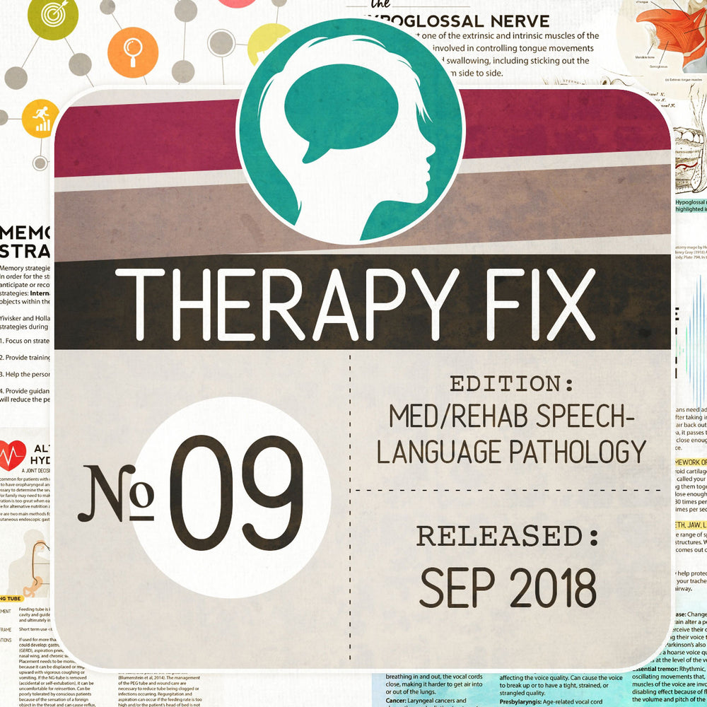 Med/Rehab Speech-Language Pathology Therapy Fix No. 9 (Released Sep 2018)