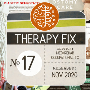 Load image into Gallery viewer, Med/Rehab Occupational Therapy Fix No. 17 (Released November 2020)