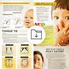 Pediatric SLP Bundle: Feeding and Swallowing Handouts for Parents and Caregivers