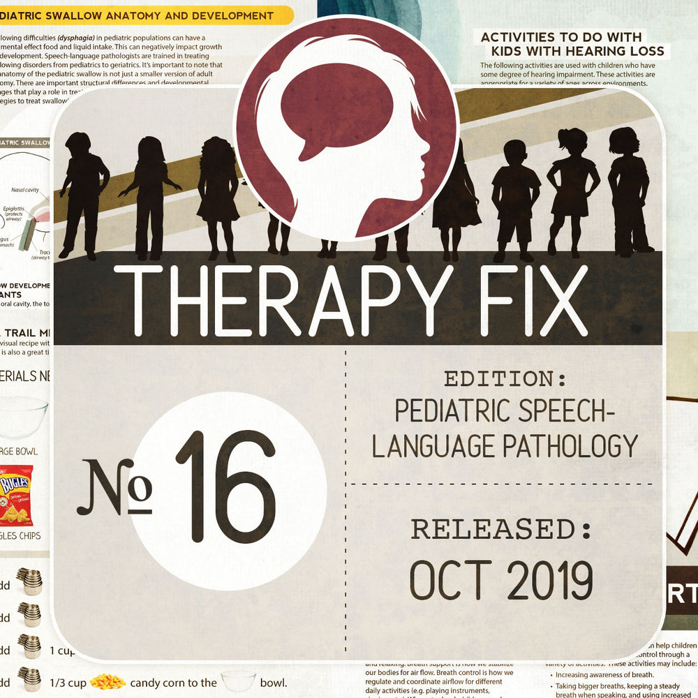 Pediatric Speech-Language Pathology Therapy Fix No. 16 (Released Oct 2019)