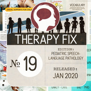 Pediatric Speech-Language Pathology Therapy Fix No. 19 (Released Jan 2020)