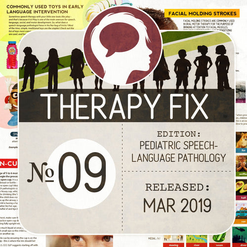 Pediatric Speech-Language Pathology Therapy Fix No. 9 (Released Mar 2019)