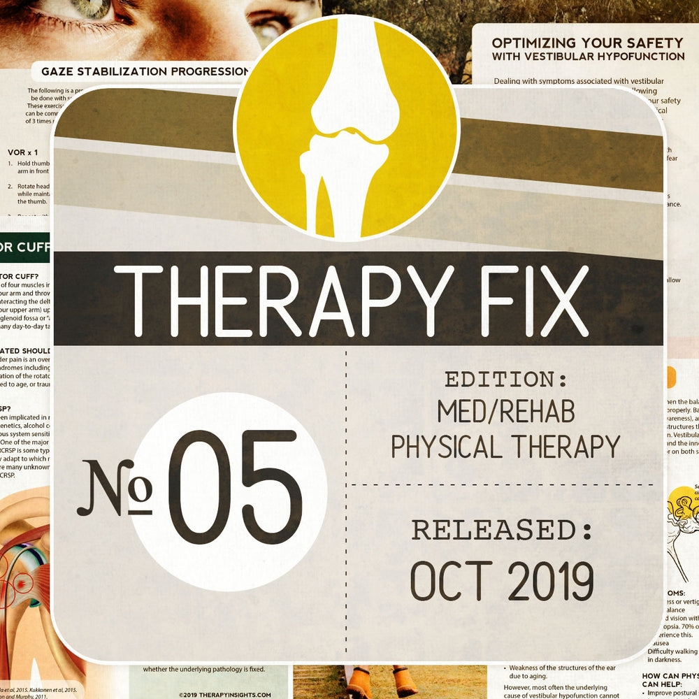 Load image into Gallery viewer, Physical Therapy Fix No. 5 (Released Oct 2019)