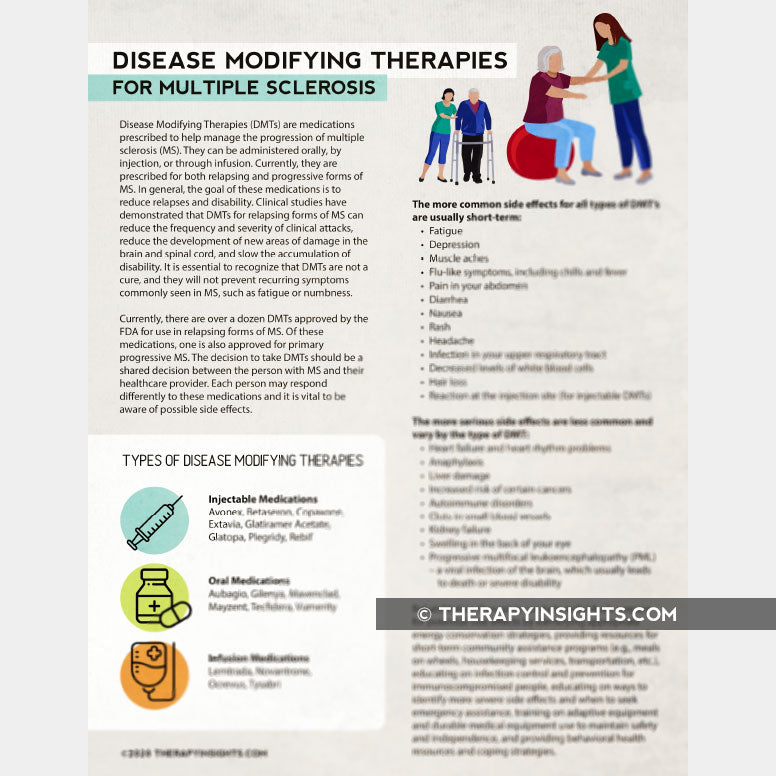 Disease Modifying Therapies for Multiple Sclerosis