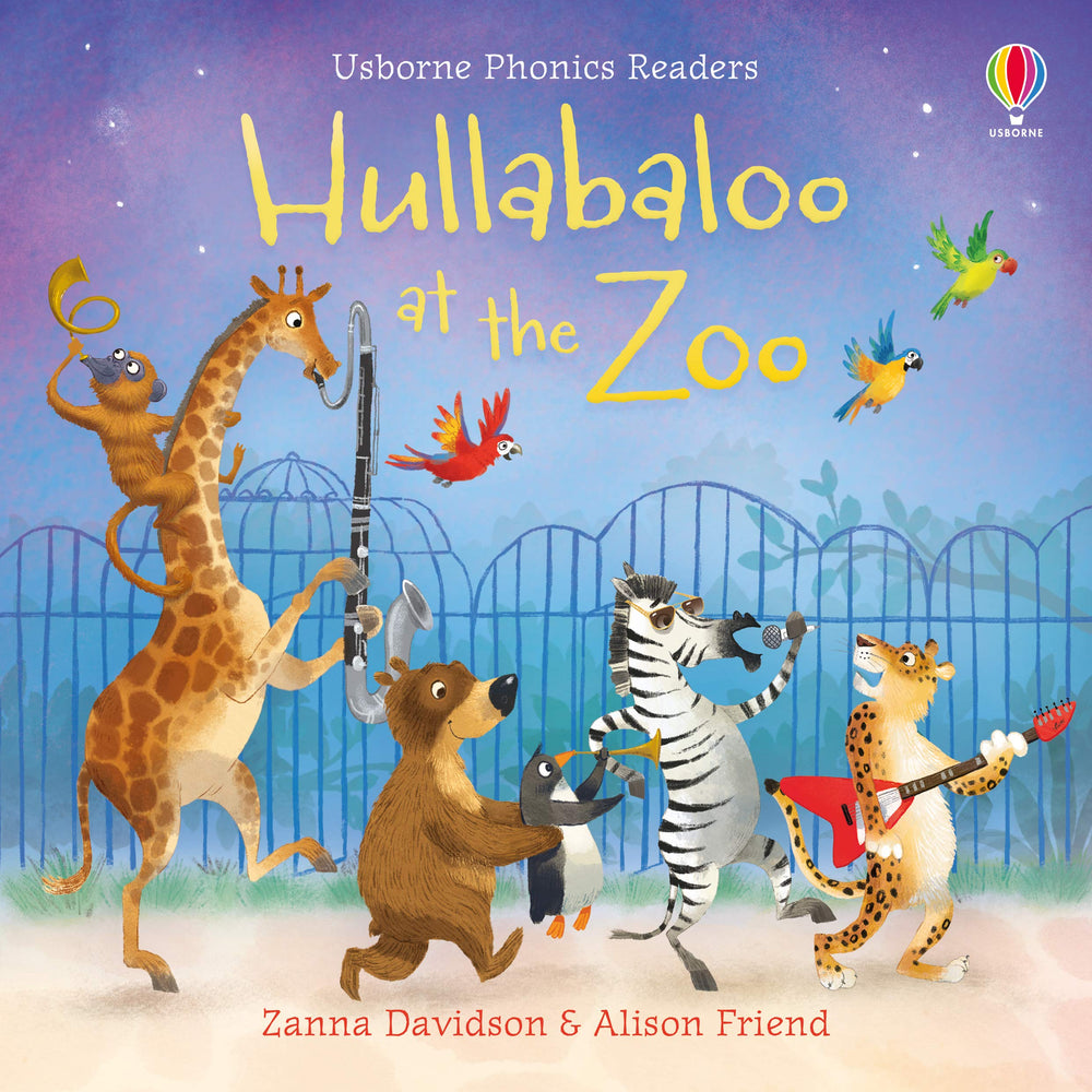 Book + Activities Pack: Hullabaloo at the Zoo