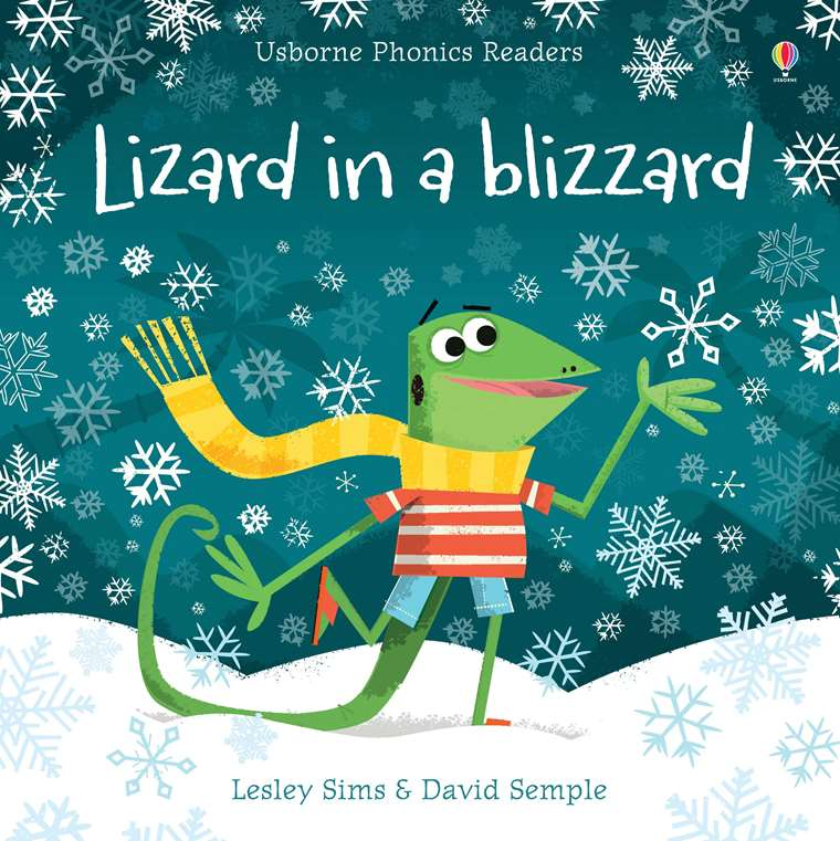 Book + Activities Pack: Lizard in a Blizzard