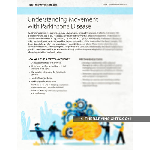 Understanding Movement with Parkinson's Disease