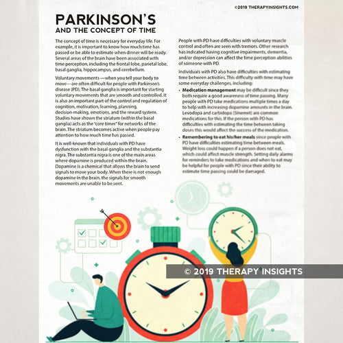 Parkinson's Disease and Sense of Time