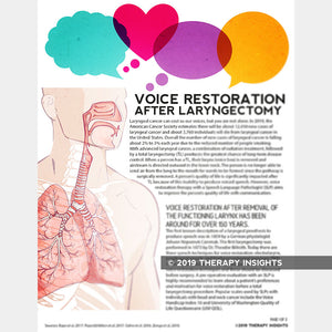 Voice Restoration After Laryngectomy
