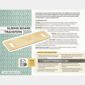 Sliding Board Transfers