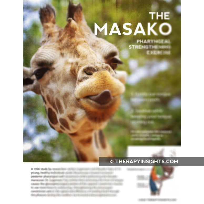 Handout: The Masako Dysphagia Exercise