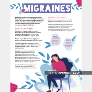 Load image into Gallery viewer, Migraine - How Therapy Can Help