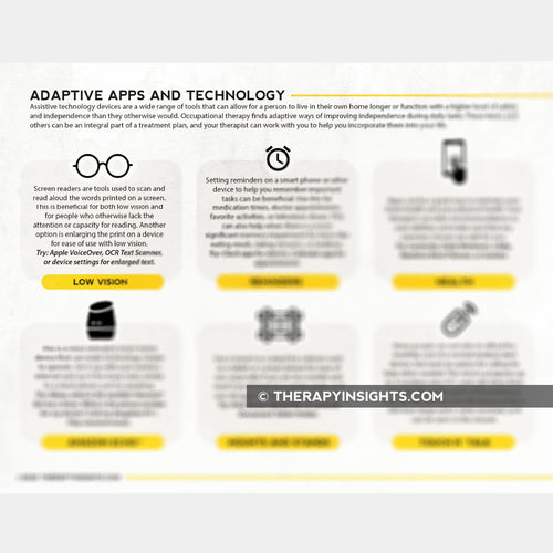 Adaptive Apps and Technology