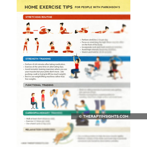 Parkinson's Disease: Home Exercise Tips