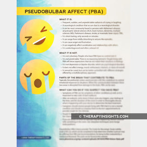 Pseudobulbar Affect