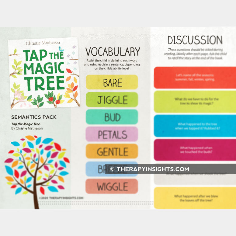Load image into Gallery viewer, Book + Activities Pack: Tap the Magic Tree