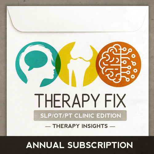 Therapy Fix: SLP/OT/PT Clinic Edition