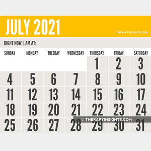 2021 Calendars: Monthly Low Vision + Weekly Planners