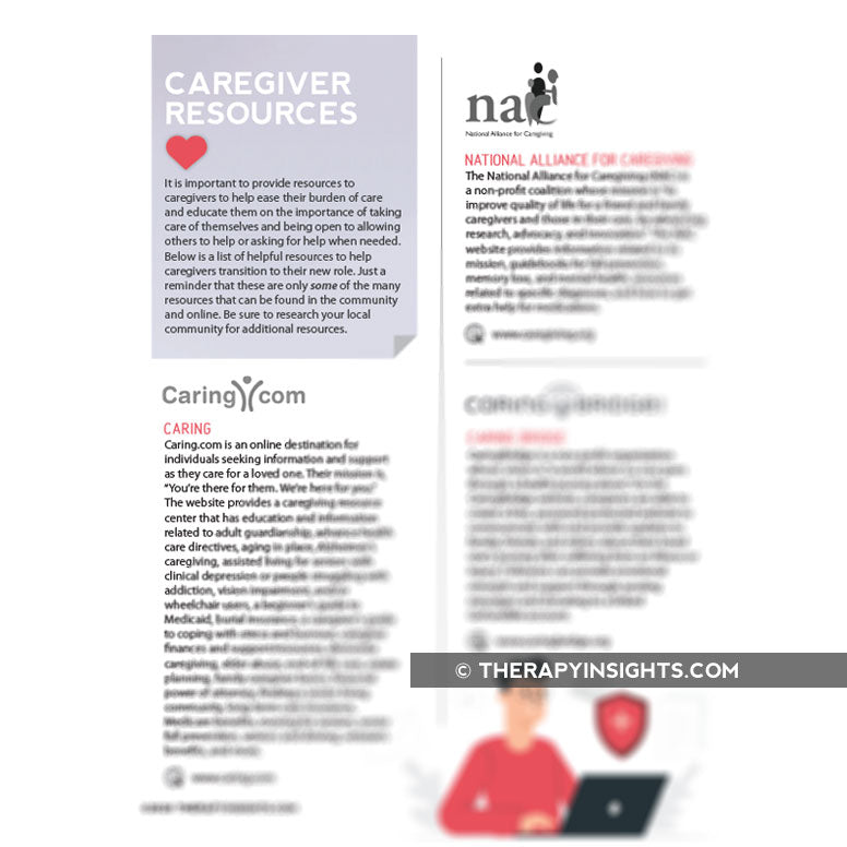 Caregiver Resources