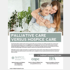 Palliative Care versus Hospice Care