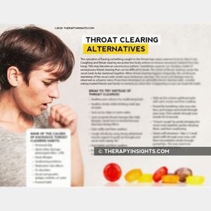 Throat Clearing Alternatives