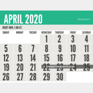 2020 Calendars: Monthly Low Vision + Weekly Planners