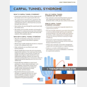 Carpal Tunnel Syndrome: What to Expect