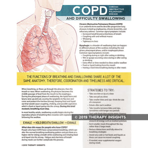 Chronic obstructive pulmonary disease (COPD) and difficulty swallowing - dysphagia therapy - speech therapy materials for adults - Therapy Insights - Therapy Fix