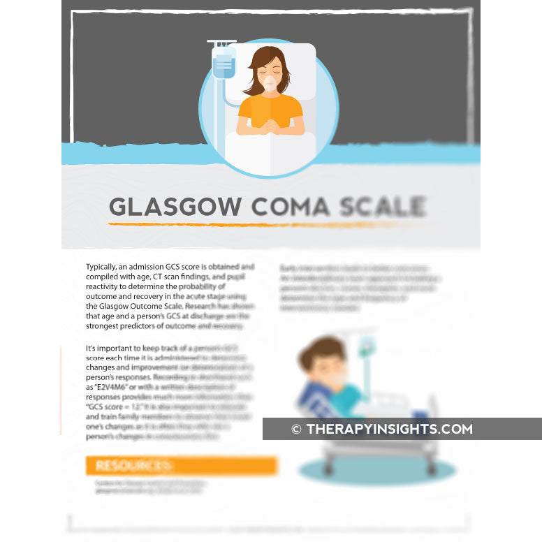 Load image into Gallery viewer, Glasgow Coma Scale