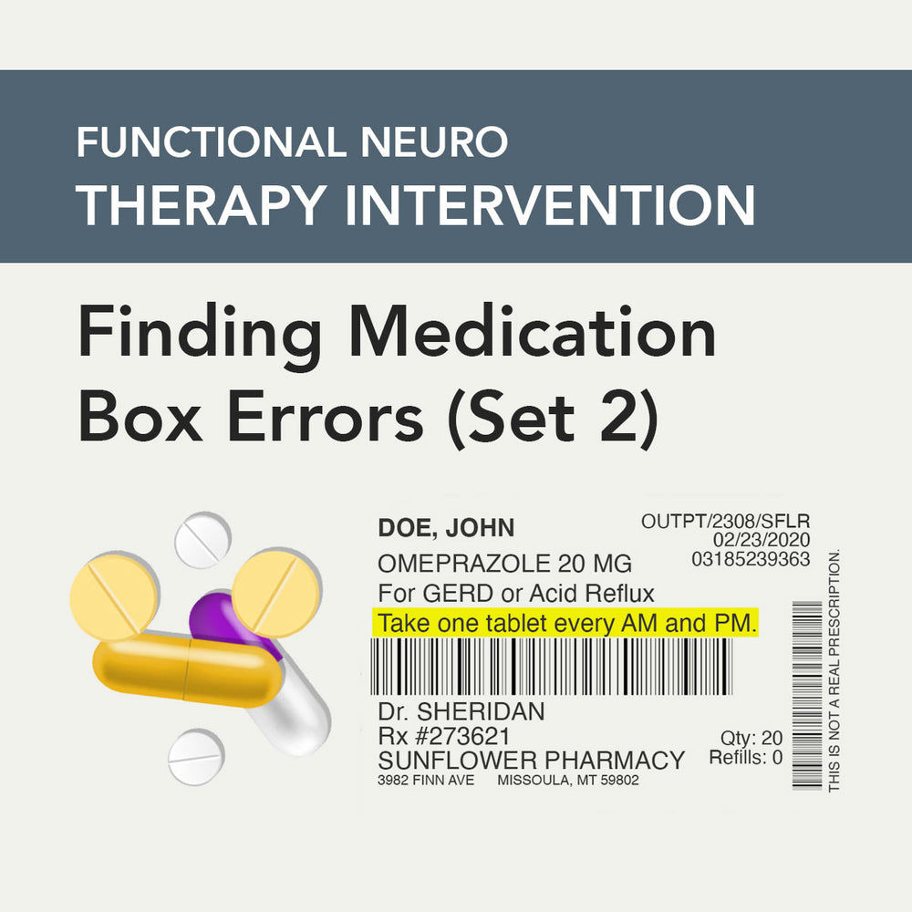 Med/Rehab Speech-Language Pathology Therapy Fix No. 35 (Released November 2020)