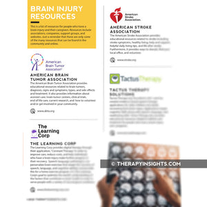 Load image into Gallery viewer, Brain Injury Resources