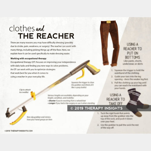 Clothes and the Reacher