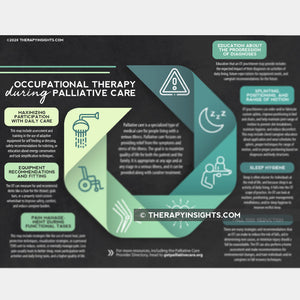 Occupational Therapy During Palliative Care