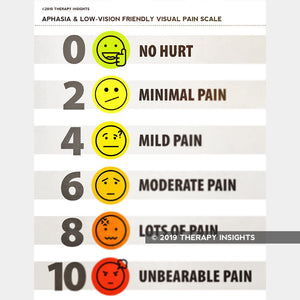 Low-Vision, Aphasia-Friendly Visual Pain Scale