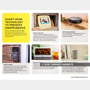 Smart Home Technology to Promote Independence