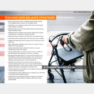 Teaching Safe Balance Strategies