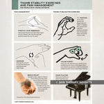 Exercises and pain management for thumb arthritis - Thumb arthritis - occupational therapy - Therapy Insights - Therapy Fix