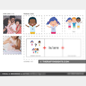 Visual Support to Help Pre-K and K Students with Describing