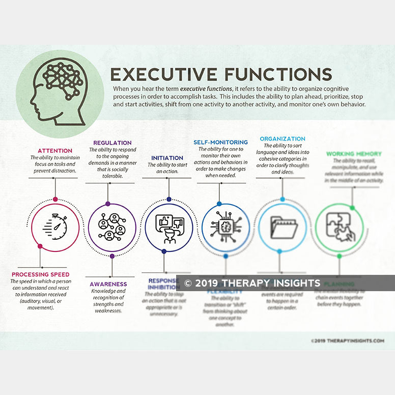 Load image into Gallery viewer, Handout: Executive Functions