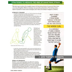 Reducing the risk of hamstring strains - health literacy for physical therapy - sport physical therapy - Therapy Insights - Therapy Fix