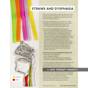Straws and Dysphagia