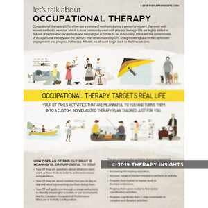 Occupational Therapy Targets Real Life