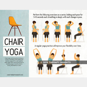 Load image into Gallery viewer, Chair Yoga