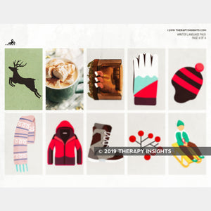 Load image into Gallery viewer, Winter-Themed Language Activity Pack